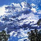 'Monolith' (Cloud formation over Wake Forest, NC) by Jerry Kirk