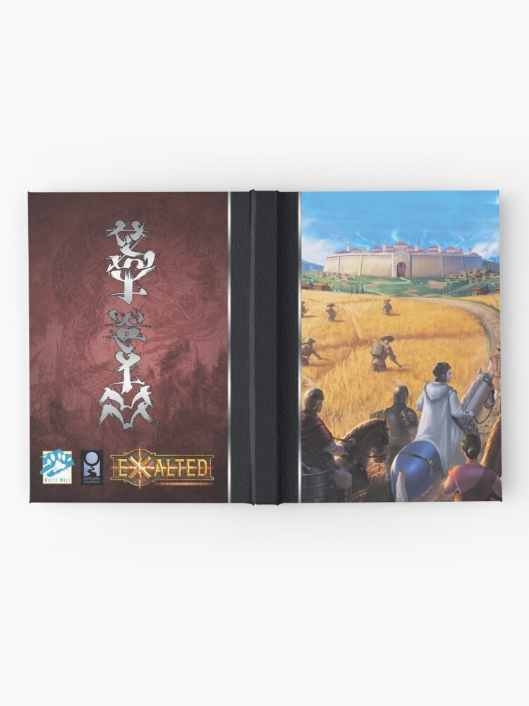 Alternate view of Exalted Realm Art: Arrival Hardcover Journal