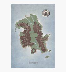 Lost Island Dharma Photographic Print