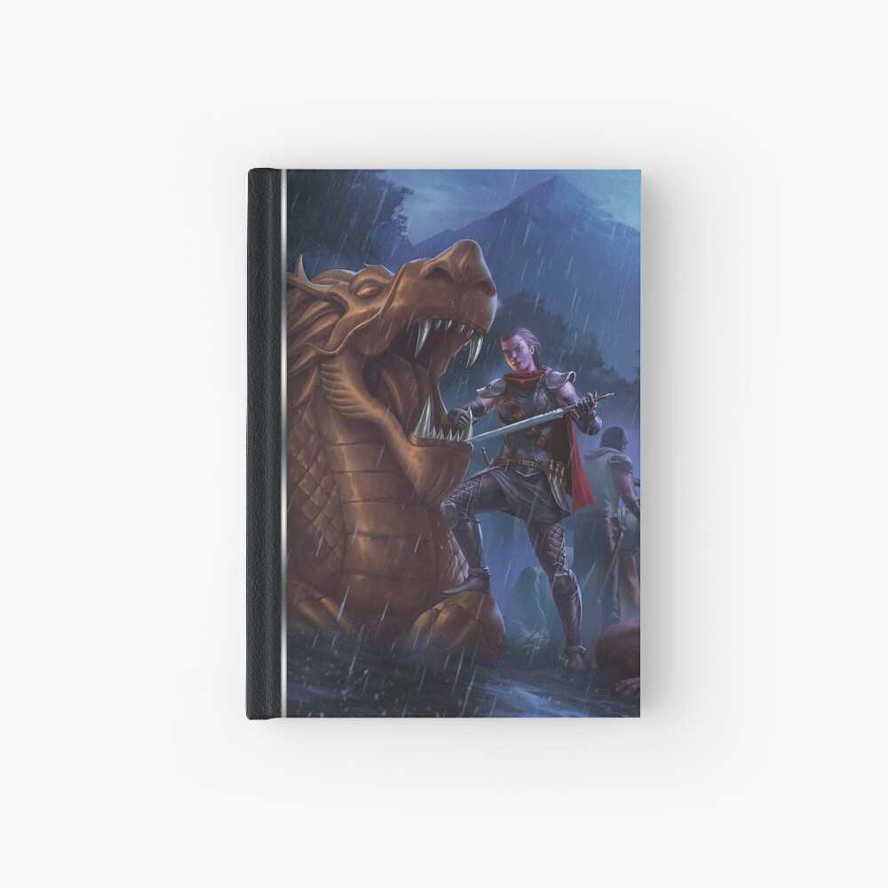 Exalted Realm Art: Dragon Hardcover Journal