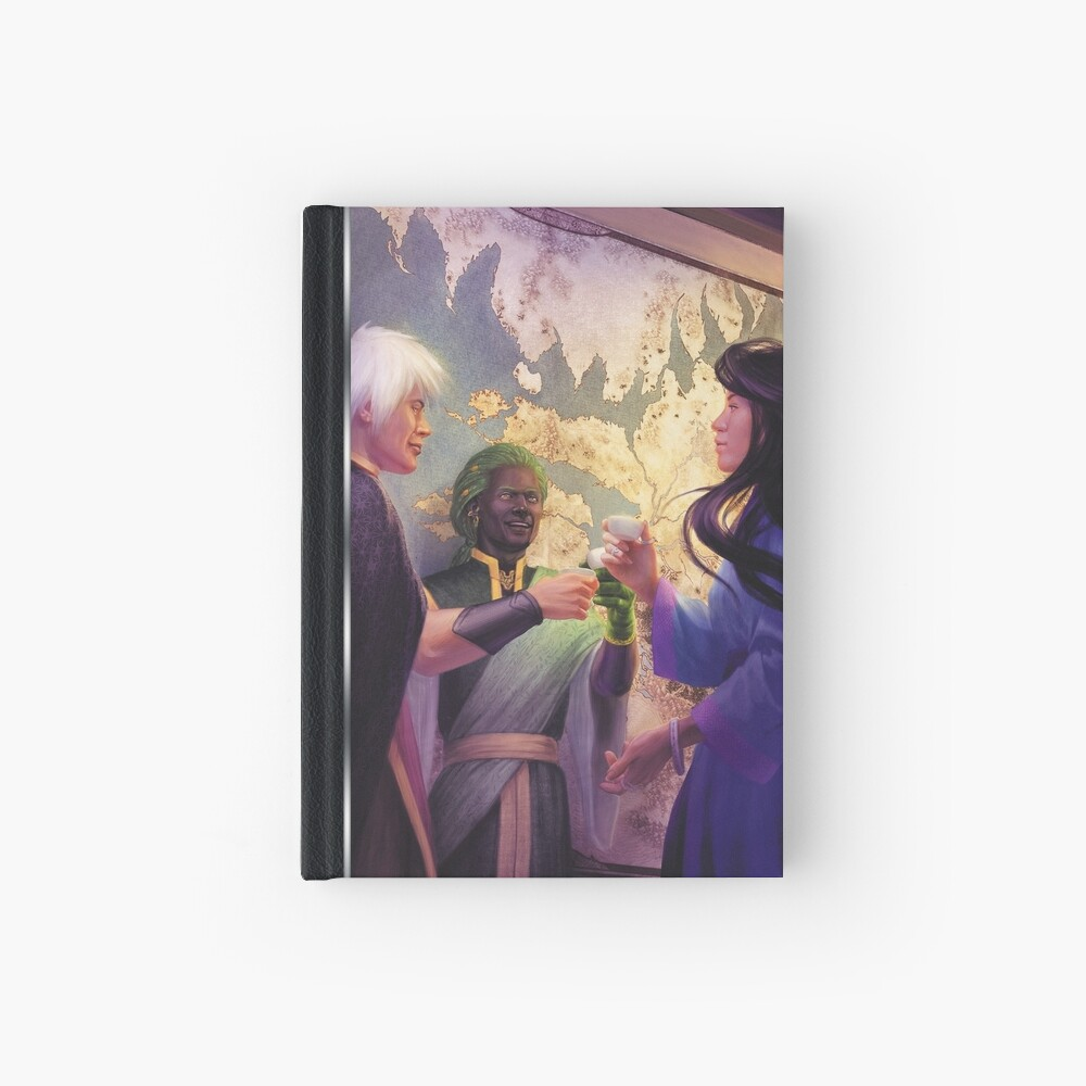 Exalted Realm Art: Negotiations Hardcover Journal