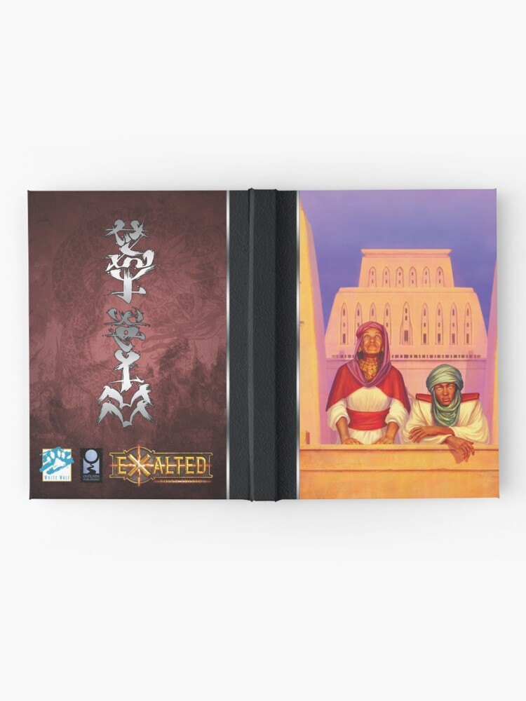 Alternate view of Exalted Realm Art: Overlook Hardcover Journal