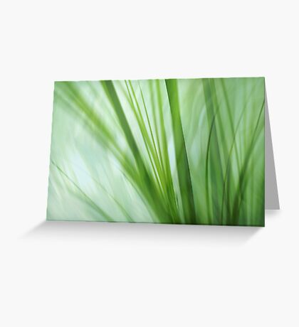 dancing grasses Greeting Card