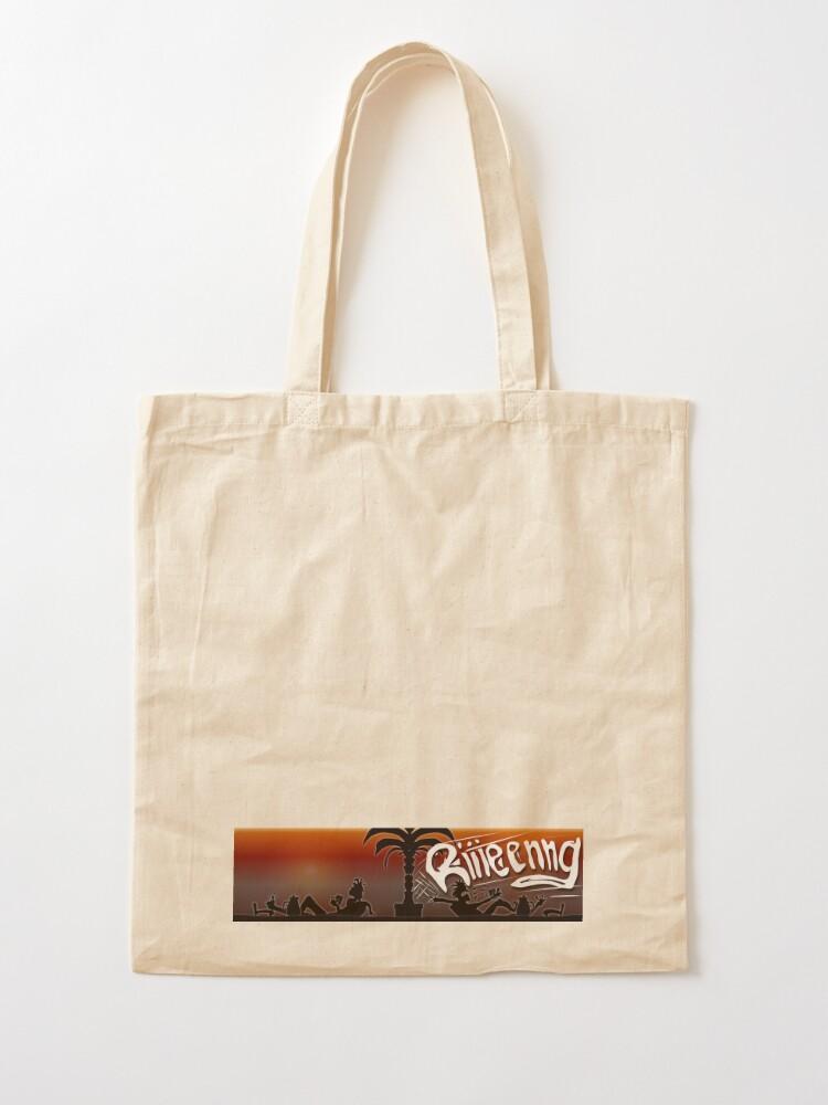 Alternative Ansicht von Schwarze Tasse Heisse Leine Kaffee - Knuud und Ksavver Comics Stofftasche