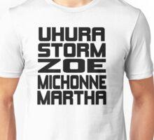 Black Women of Sci Fi Unisex T-Shirt