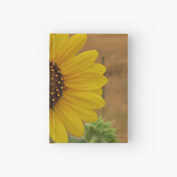 Sunflower Hardcover Journal