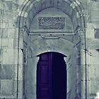 A door in Old Mosque,Edirne by rasim1