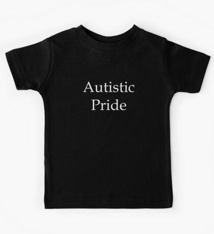 Autistic Pride (on dark) Kids Clothes