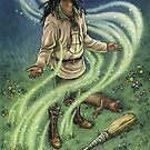 Everyday Witch Oracle - Ground and Center by Elisabeth Alba