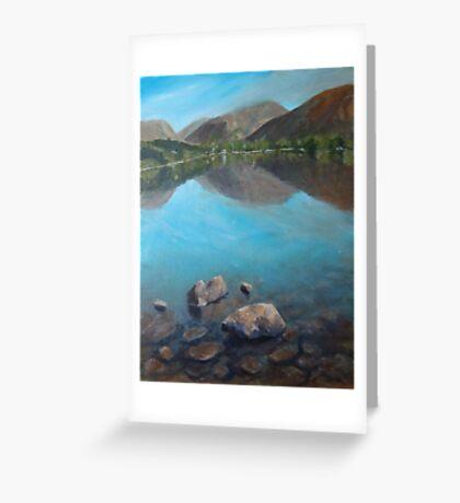 Lakes Greeting Card