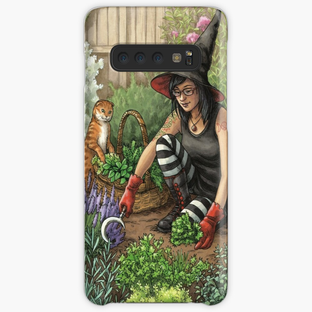 Everyday Witch Oracle - Seasonal Harvest Case & Skin for Samsung Galaxy