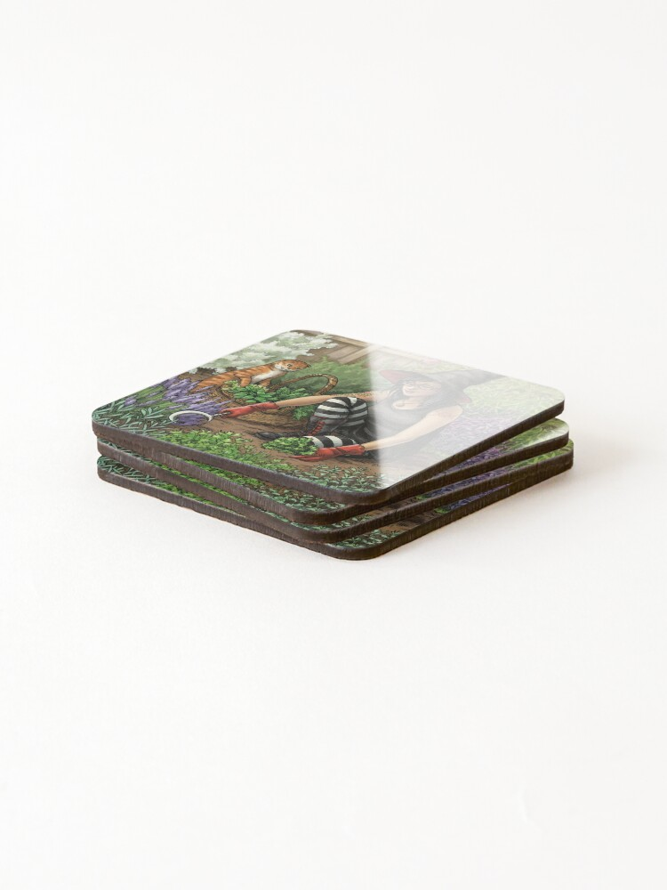 Alternate view of Everyday Witch Oracle - Seasonal Harvest Coasters (Set of 4)