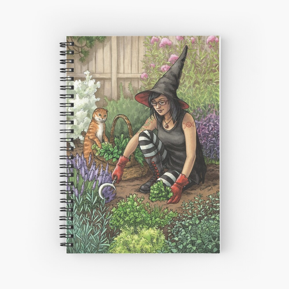 Everyday Witch Oracle - Seasonal Harvest Spiral Notebook