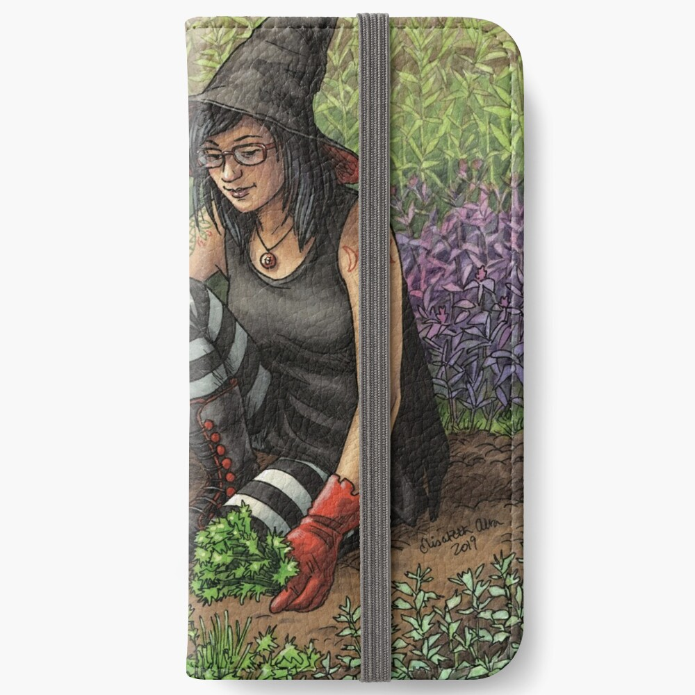 Everyday Witch Oracle - Seasonal Harvest iPhone Wallet