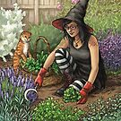 Everyday Witch Oracle - Seasonal Harvest by Elisabeth Alba