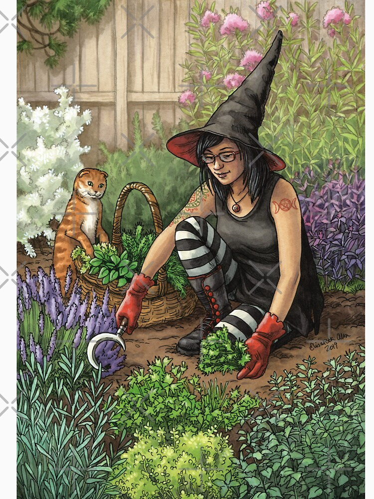 Everyday Witch Oracle - Seasonal Harvest by elisabethalba