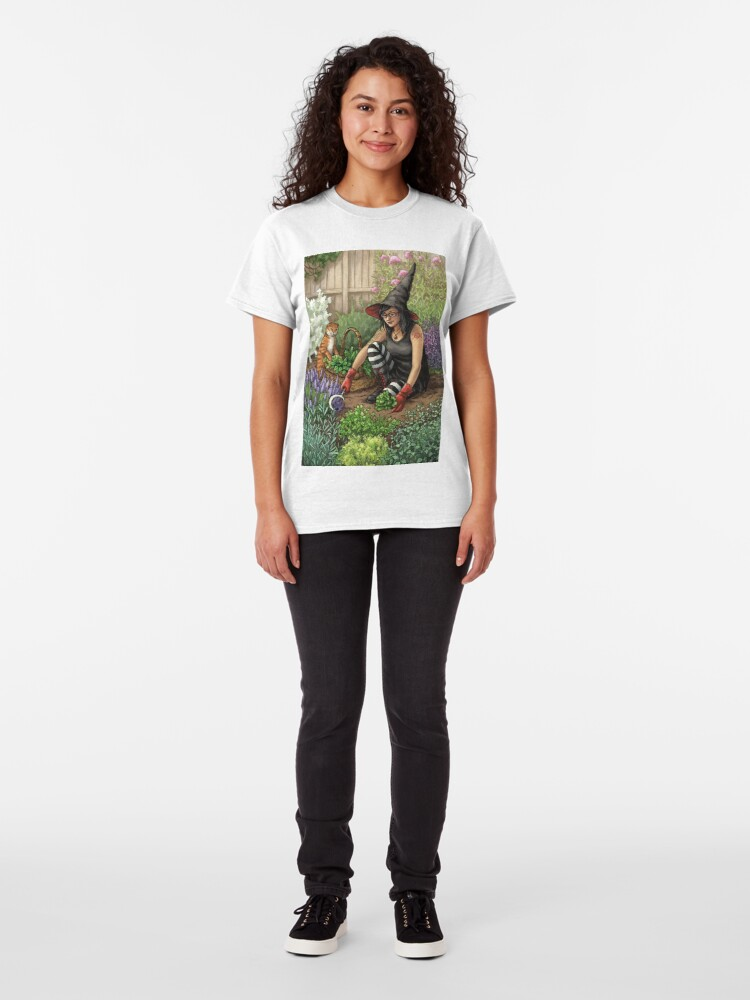Alternate view of Everyday Witch Oracle - Seasonal Harvest Classic T-Shirt
