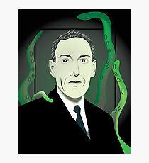 H.P. Lovecraft Photographic Print