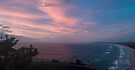Cape Byron, beach pano by Odille Esmonde-Morgan