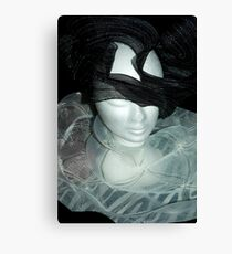 Tulle hats and collars 2 Canvas Print