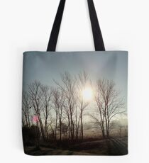 The Sun was Set on Waiting Fingertips Tote Bag