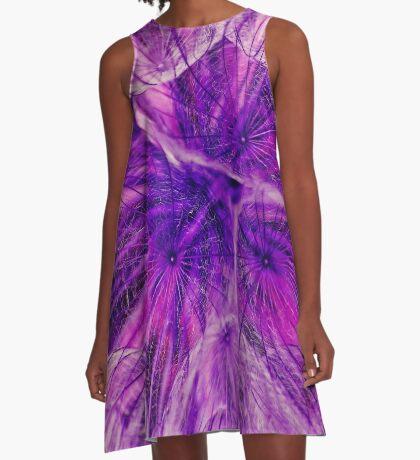 Goatsbeard Seed A-Line Dress