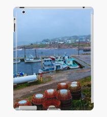 Nova Scotia Harbor iPad Case/Skin