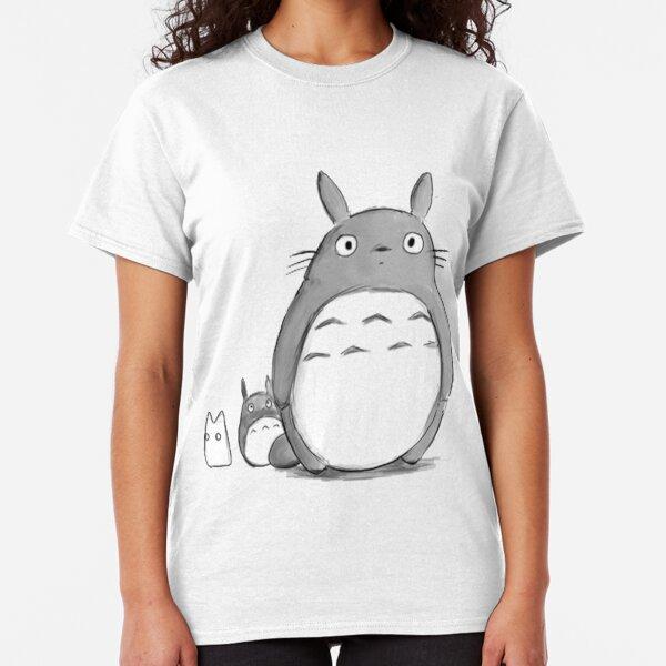 Totoro and Sprite Classic T-Shirt