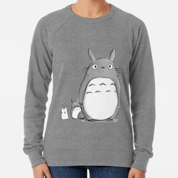 Totoro and Sprite Lightweight Sweatshirt