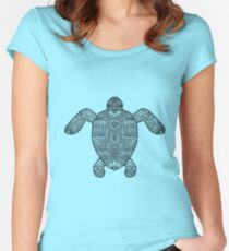 Paisley Turtle Women's Fitted Scoop T-Shirt