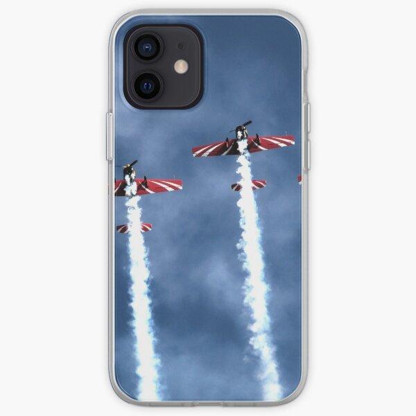 Aerobatic team. iPhone Soft Case