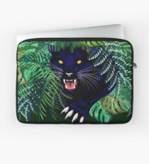 Black Panther Spirit coming out from the Jungle Laptop Sleeve