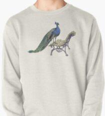 Peacock Pullover Sweatshirt
