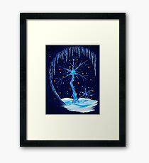 Fantasy Tree- Christmas Card Framed Print