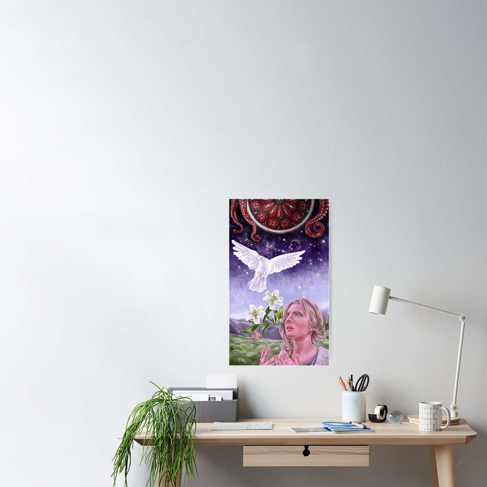 The OA - Garden of Forking Paths Poster