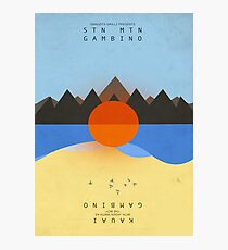 Childish Gambino's STN MTN/KAUAI (artwork) Photographic Print