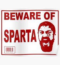 Beware of Sparta Poster