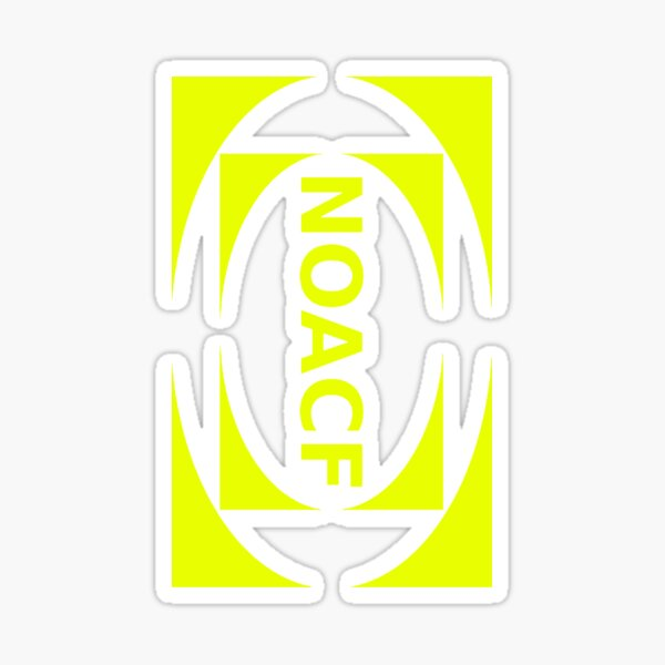 The 1975 -NOACF - Portrait Logo (Transparent)  Sticker