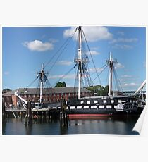 Old Ironsides Poster