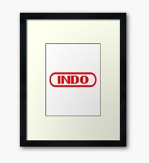 Indo Entertainment System Framed Print