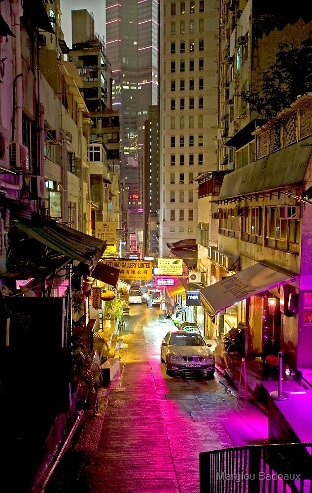 Hong Kong Alley by Marylou Badeaux