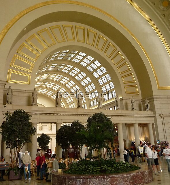 Union Station, Washington DC by nealbarnett