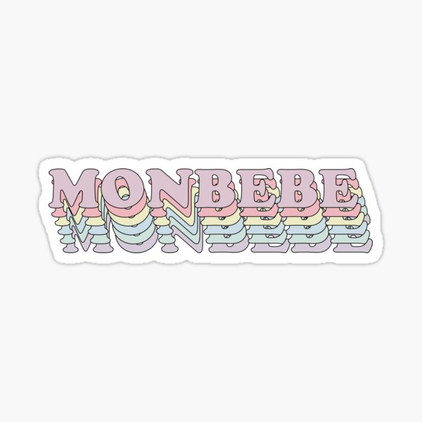 MONBEBE MONSTA X BTS  Sticker