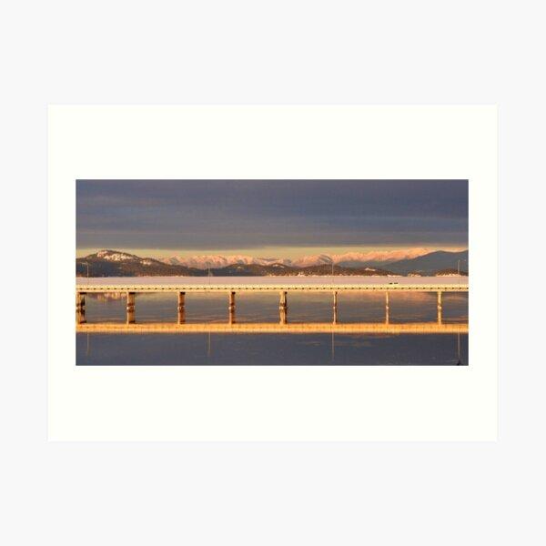 Polson Bridge Art Print