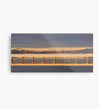 Polson Bridge Metal Print