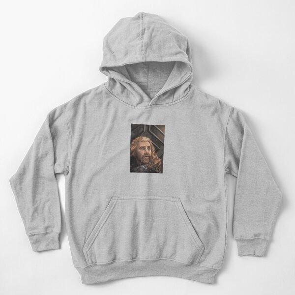 Prince Under the Mountain Kids Pullover Hoodie