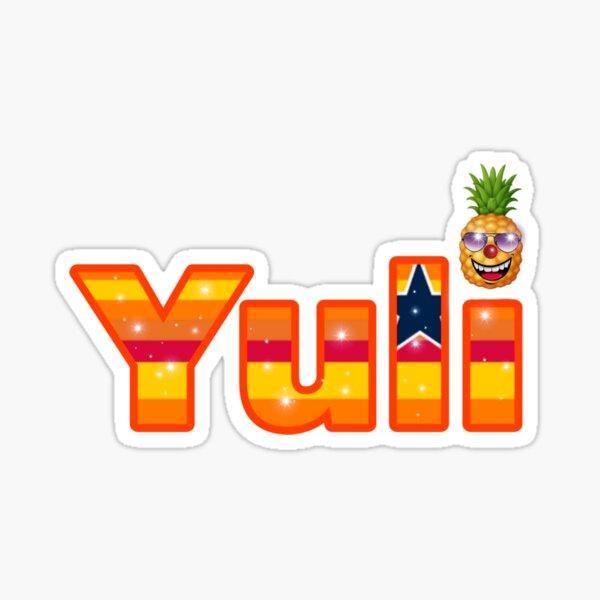 Baseball Yuli Astros Sensation Sticker