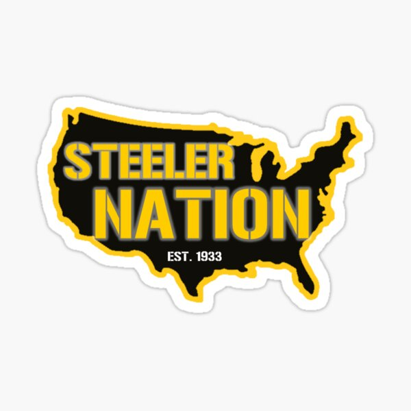 Steeler Nation - Est. 1933 Sticker