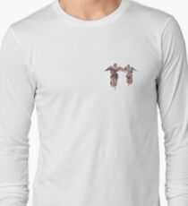 2 little angels to watch over you Long Sleeve T-Shirt