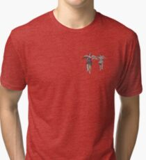 2 little angels to watch over you Tri-blend T-Shirt